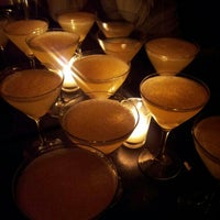 Photo taken at Verlaine Bar & Lounge by Andrea T. on 11/30/2012