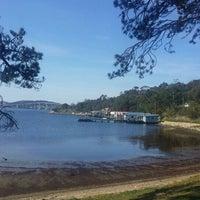 Photo taken at Cornelian Bay by BBB 0. on 9/13/2015