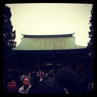 Foto tirada no(a) Honden (Main Shrine) por あや em 1/5/2013
