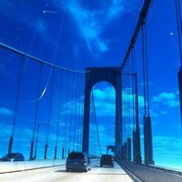 Photo taken at Bronx-Whitestone Bridge by Barbara on 8/14/2013