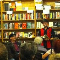 Photo taken at Bluestockings by Barbara on 10/18/2012