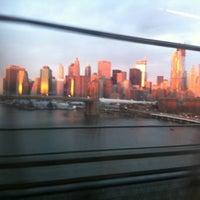 Photo taken at MTA Subway - Manhattan Bridge (B/D/N/Q) by Barbara on 11/16/2012
