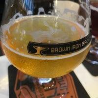 Photo taken at Brown Iron Brewhouse by Sara M. on 8/31/2017