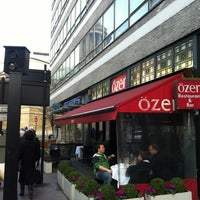 Photo taken at Özer Restaurant & Bar by H. L. on 11/23/2012