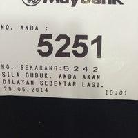 Photo taken at Maybank by Faizah R. on 5/29/2014
