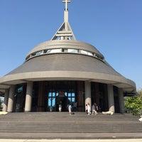 Photo taken at St.Theresa Church by Worawan K. on 4/5/2015