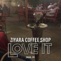 Photo taken at Ziyara Coffee Shop by Nourhan B. on 1/14/2013