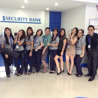 Photo taken at Security Bank by Mariel E. on 7/11/2013