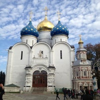 Photo taken at The Holy Trinity-St. Sergius Lavra by Denis on 9/22/2012