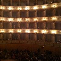 Photo taken at Teatro Verdi by Khatia G. on 3/11/2014