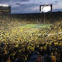 Photo taken at Michigan Stadium by Jeremy on 10/20/2012