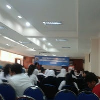 Photo taken at Gedung C by Veronica Dian S. on 9/28/2012