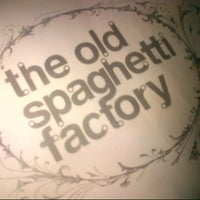 Photo taken at The Old Spaghetti Factory by Lissa U. on 12/18/2012