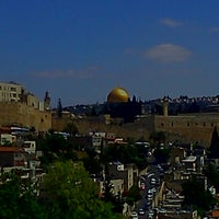 Photo taken at Jerusalem by Dino C. on 6/15/2013