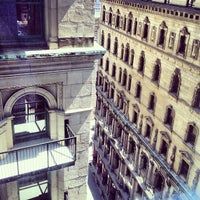 Photo taken at Le Westin Montreal by Summer L. on 4/28/2013