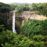 Photo taken at Chamarel Waterfall by Oleg on 5/3/2013
