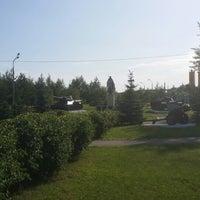 Photo taken at Парк С Танками by Kylak on 7/15/2014