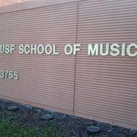 Photo taken at School of Music (MUS) by Cassie G. on 10/16/2012