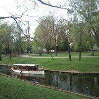Photo taken at Kronvalda parks by Bucīgā B. on 5/12/2013