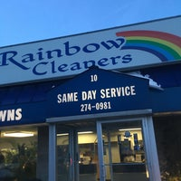 Photo taken at Rainbow Cleaners by Phil F. on 2/17/2017