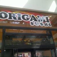 Photo taken at Origami Sushi by Fabiola K. on 11/21/2012
