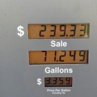 Photo taken at Chevron by Kim on 12/6/2014