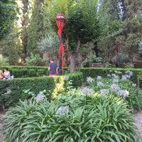Photo taken at Jardins de la Cartoixa by Lisette on 8/5/2016