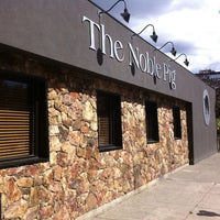 Photo taken at The Noble Pig Brewhouse & Restaurant by Beer L. on 8/19/2013