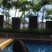 Photo taken at Baramee Resortel Phuket by Svetlana on 6/9/2014