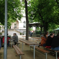 Photo taken at Letná Beer Garden by Vítek on 5/17/2013