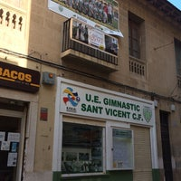Photo taken at Gimnastic sant Vicent C. F. by Luisa T. on 5/2/2014
