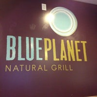 Photo taken at Blue Planet Natural Grill by Chris J. on 2/10/2013
