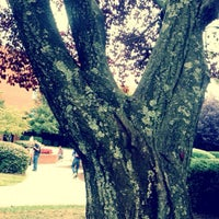 Photo taken at DeMoss Hall by Emi on 9/17/2012