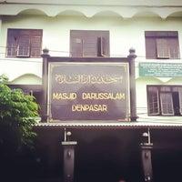 Photo taken at Masjid Darussalam Ubung Denpasar by Dody J. on 5/6/2016