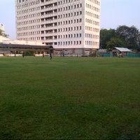 Photo taken at GOR Soemantri Brodjonegoro by Aldo S. on 9/15/2012