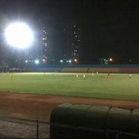 Photo taken at GOR Soemantri Brodjonegoro by Aldo S. on 11/16/2012