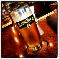 Photo taken at Gordon Biersch Brewery Restaurant by Rachel F. on 10/27/2012