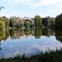 Photo taken at Lietzenseebrücke by Davide C. on 9/22/2017