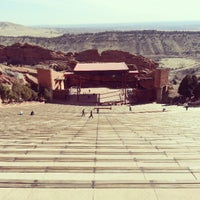 Photo taken at Red Rocks Park & Amphitheatre by Adam H. on 3/19/2013