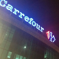Photo taken at Carrefour by Cyntia K. on 1/5/2013