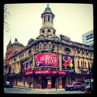 Photo taken at Shaftesbury Theatre by Marcus on 3/20/2013