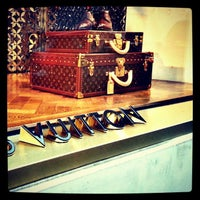 Photo taken at Louis Vuitton by Marcus on 12/30/2012
