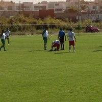 Photo taken at Canchas UPAEP by Yaraldini on 10/21/2012
