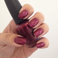 Photo taken at Pink Nail Bar & Beauty by Alyne on 6/18/2014