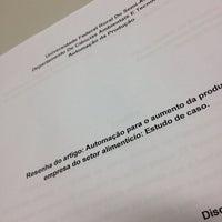 Photo taken at Engenharia De Produção by David E. on 5/5/2014