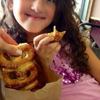 Photo taken at Philly Pretzel Factory by Elana on 7/27/2013
