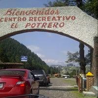 Photo taken at Valle del Potrero by Sergio B. on 10/13/2012