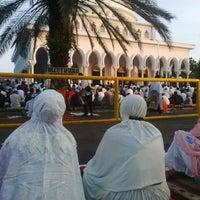 Photo taken at Masjid Al-Kausar by Ayu R. on 7/27/2014
