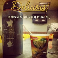 Photo taken at MFS Messroom Malaysia LNG by Amirul N. on 3/31/2013