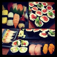 Photo taken at Hide Sushi by Stephanie C. on 7/2/2013